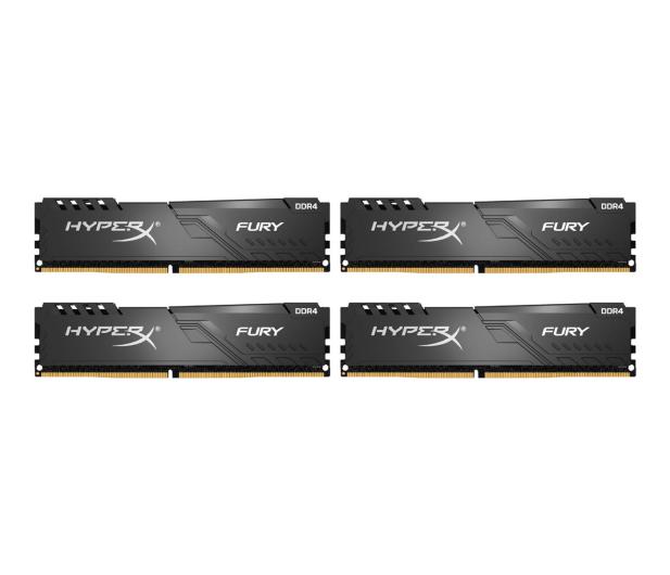HyperX 128GB (4x32GB) 3200MHz CL16 Fury Black - 576341 - zdjęcie