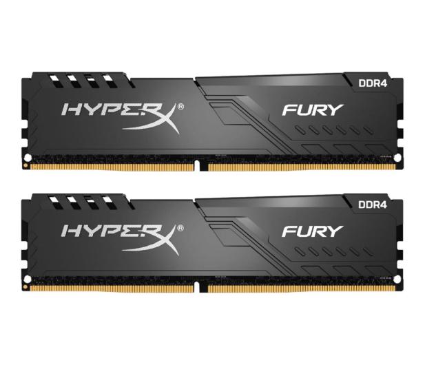 HyperX 16GB (2x8GB) 3600MHz CL17 Fury Black  - 546619 - zdjęcie