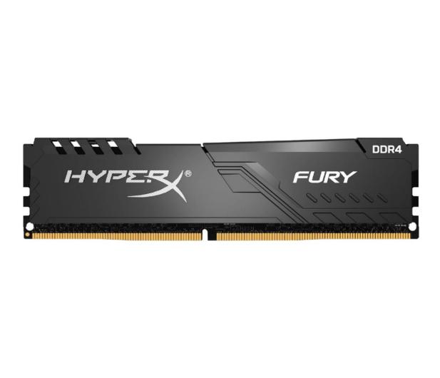 HyperX 8GB (1x8GB) 3733MHz CL19 Fury Black  - 546610 - zdjęcie
