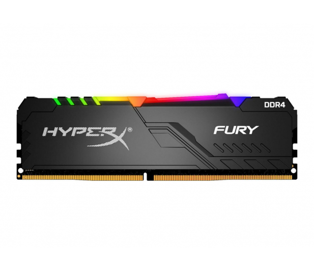 HyperX 32GB 3200MHz Fury RGB CL16 (4x8GB) - 511005 - zdjęcie 2
