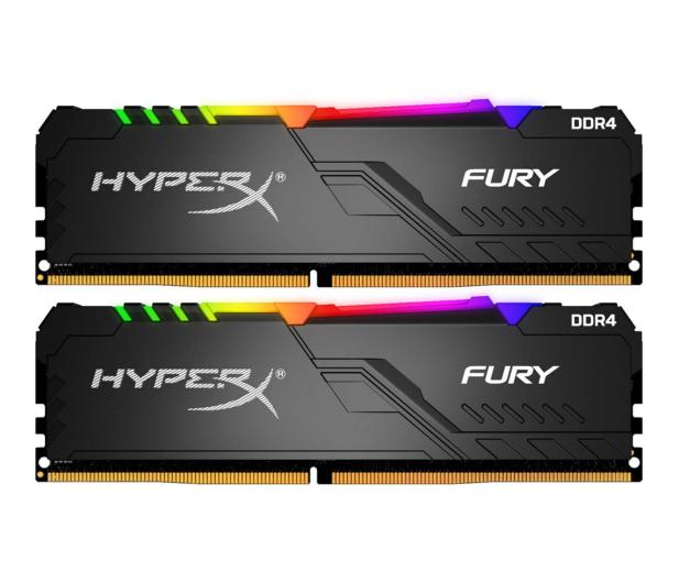 HyperX 32GB (2x16GB) 3200MHz CL16 Fury RGB - 511018 - zdjęcie