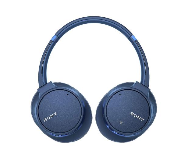 Sony WH-CH700NL Niebieskie - 511051 - zdjęcie 4