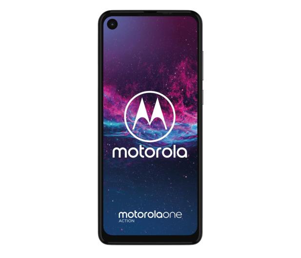 Motorola One Action 4/128GB Dual SIM biały + etui - 511153 - zdjęcie 3