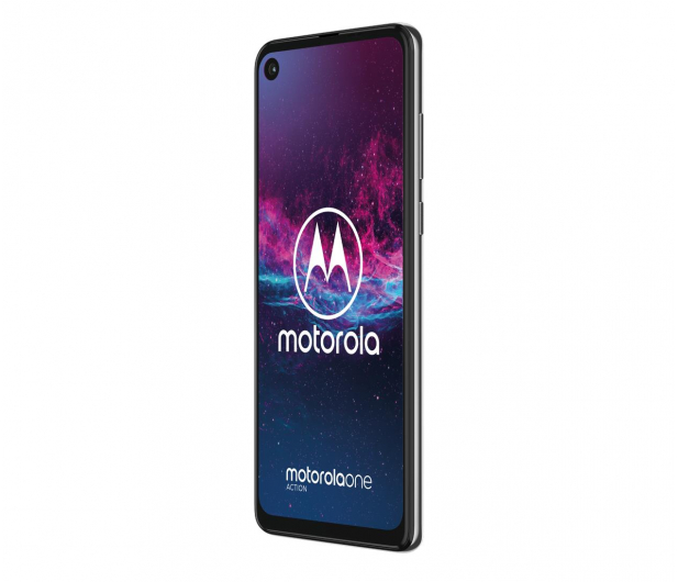Motorola One Action 4/128GB Dual SIM biały + etui - 511153 - zdjęcie 2