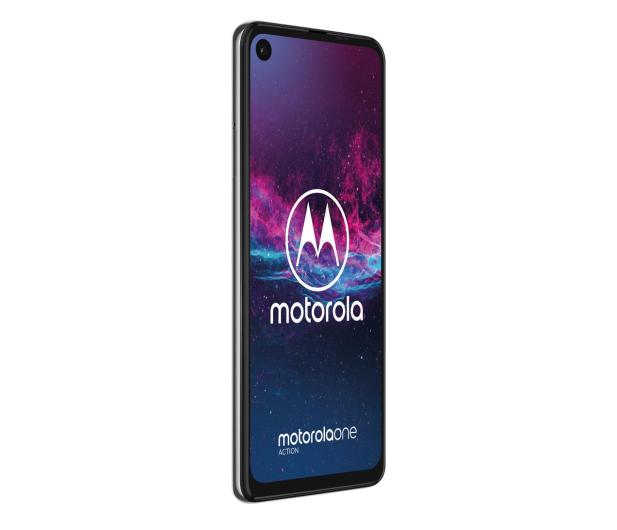 Motorola One Action 4/128GB Dual SIM biały + etui - 511153 - zdjęcie 4