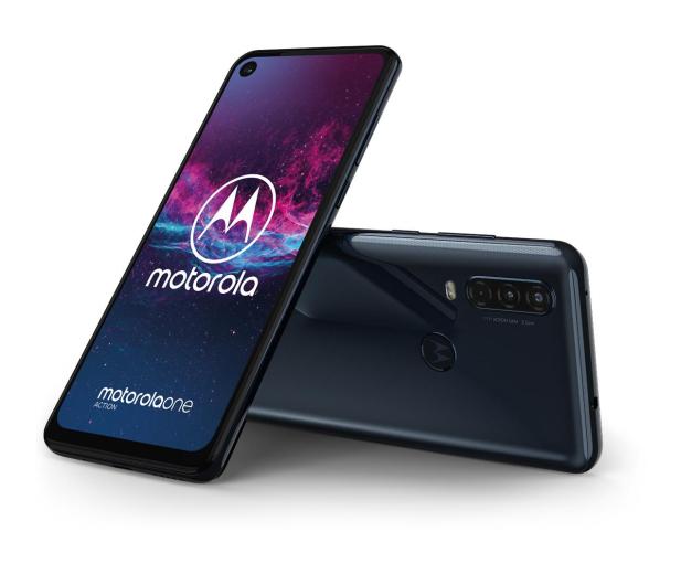 Motorola One Action 4/128GB Dual SIM granatowy + etui - 511154 - zdjęcie 8