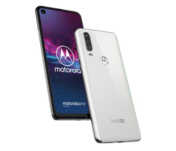 Motorola One Action 4/128GB Dual SIM biały + etui - 511153 - zdjęcie 7