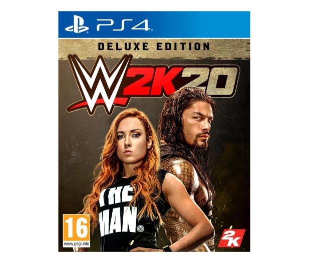 CENEGA WWE 2K20 Deluxe Edition - 510769 - zdjęcie