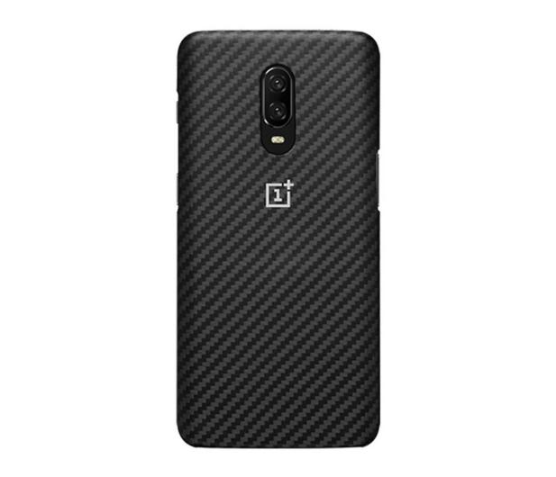 OnePlus Karbon Protective Case do OnePlus 6t czarny - 510031 - zdjęcie