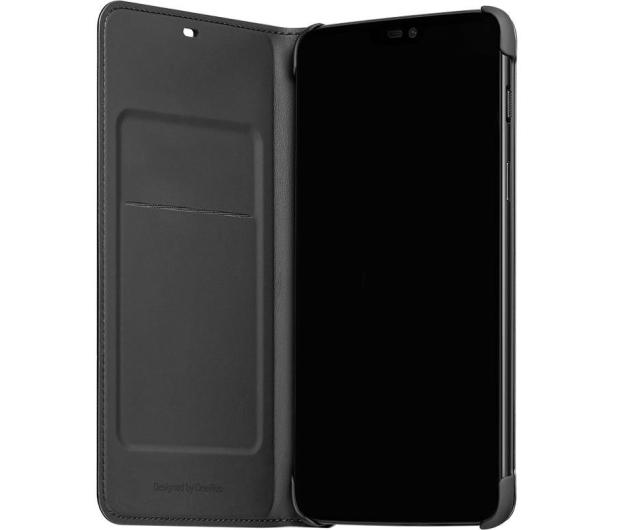 OnePlus Flip Cover do OnePlus 6 czarny  - 510032 - zdjęcie 3