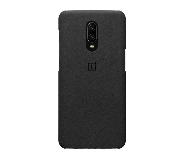 OnePlus Sandstone Protective Case do OnePlus 6t czarny  - 510029 - zdjęcie