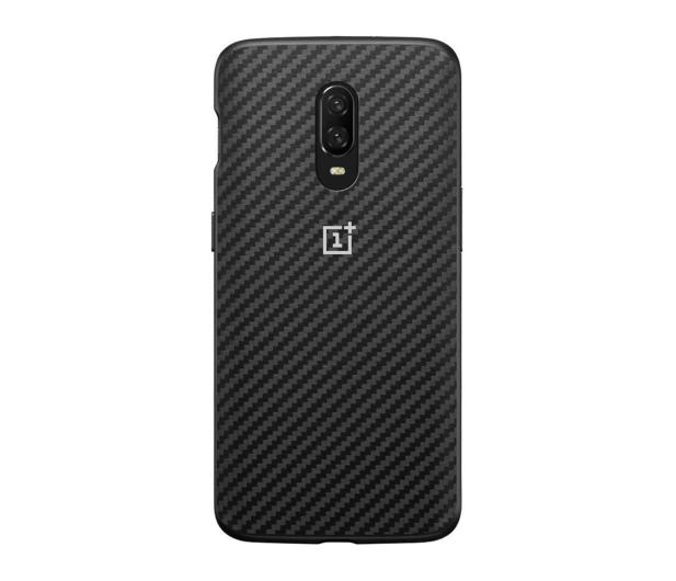 OnePlus Karbon Bumper Case do OnePlus 6t czarny - 510033 - zdjęcie