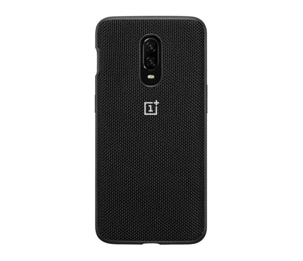 OnePlus Nylon Bumper Case do OnePlus 6t czarny  - 510030 - zdjęcie