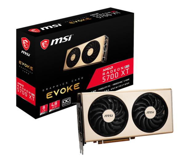 MSI Radeon RX 5700 XT EVOKE OC 8GB GDDR6 - 509703 - zdjęcie