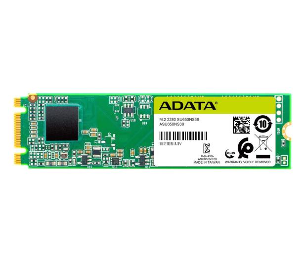 ADATA 120GB M.2 SATA SSD Ultimate SU650 - 511734 - zdjęcie