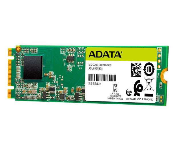 ADATA 120GB M.2 SATA SSD Ultimate SU650 - 511734 - zdjęcie 2