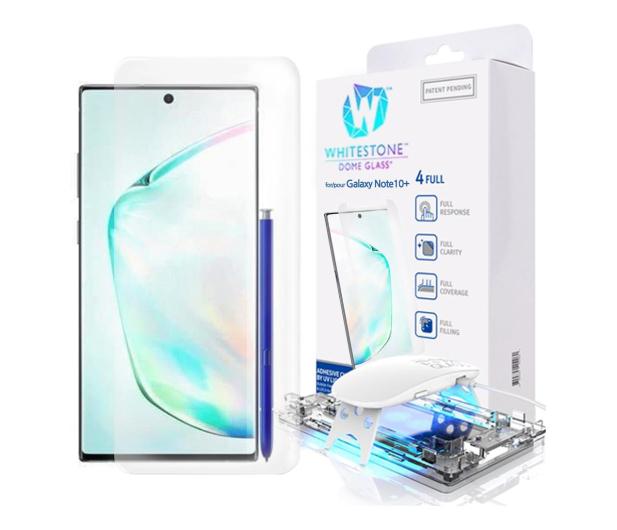 Whitestone Szkło Hartowane Dome Glass + UV do Galaxy Note 10+ - 511511 - zdjęcie