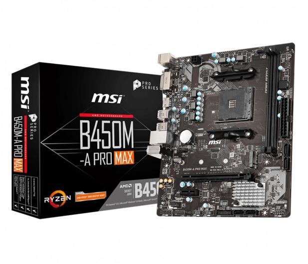MSI B450M-A PRO MAX - 508079 - zdjęcie