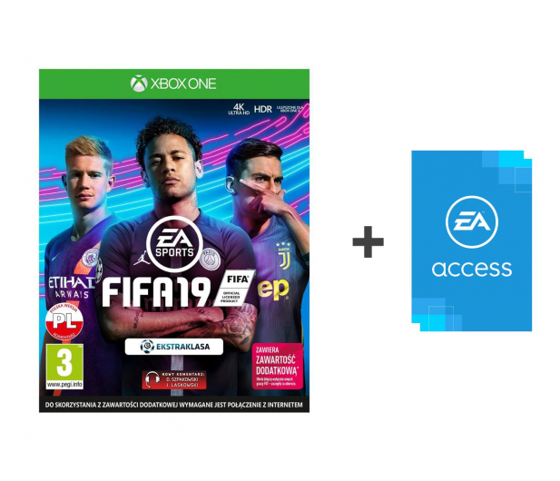 Microsoft FIFA 19 - Kupon + EA Access - 450975 - zdjęcie