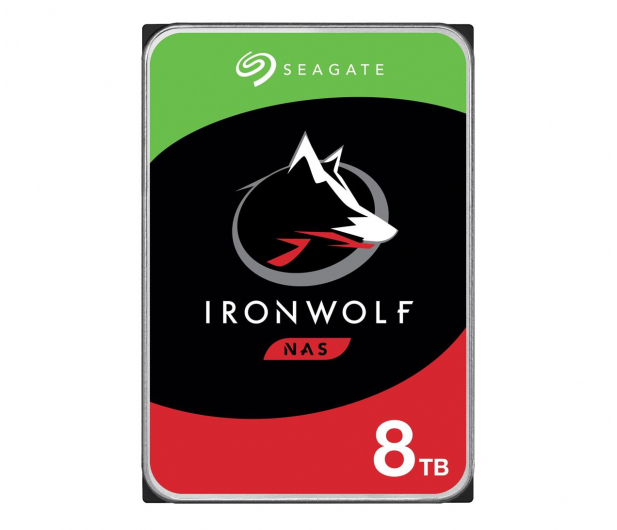 Seagate IronWolf 8TB 7200obr. 256MB  - 337219 - zdjęcie