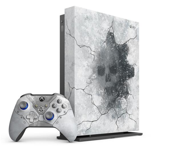 Microsoft Xbox One X 1TB Limited Ed. + GoW 5 - 512344 - zdjęcie 2