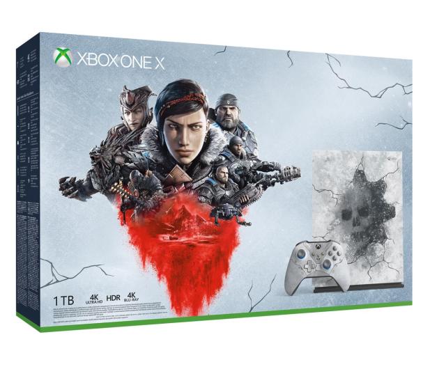 Microsoft Xbox One X 1TB Limited Ed. + GoW 5 - 512344 - zdjęcie