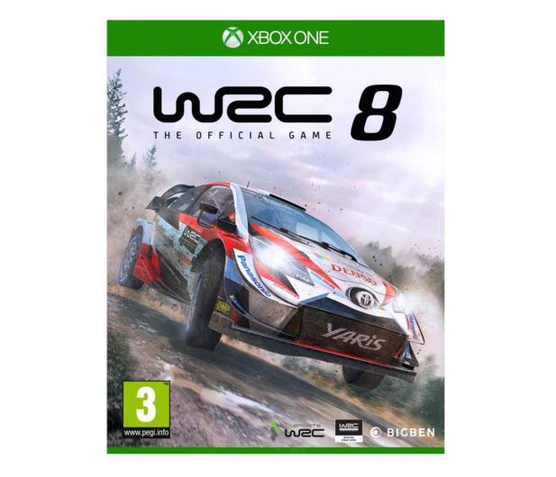 Xbox WRC 8 COLLECTORS EDITION - 512364 - zdjęcie