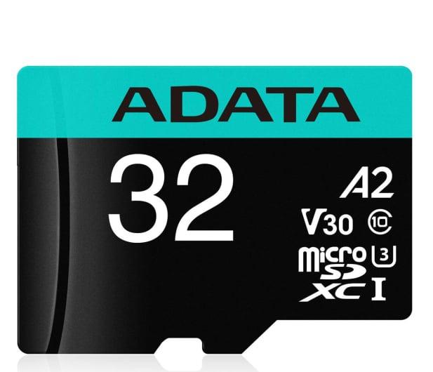 ADATA 32GB microSDHC Premier Pro 100MB/s U3 V30S A2 - 512447 - zdjęcie