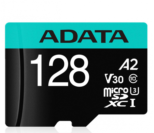 ADATA 128GB Premier Pro U3 V30S A2 + adapter  - 512449 - zdjęcie