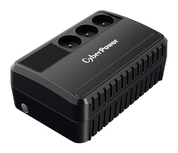 CyberPower UPS BU650E-FR (600VA/360W, 3xFR, AVR) - 512087 - zdjęcie