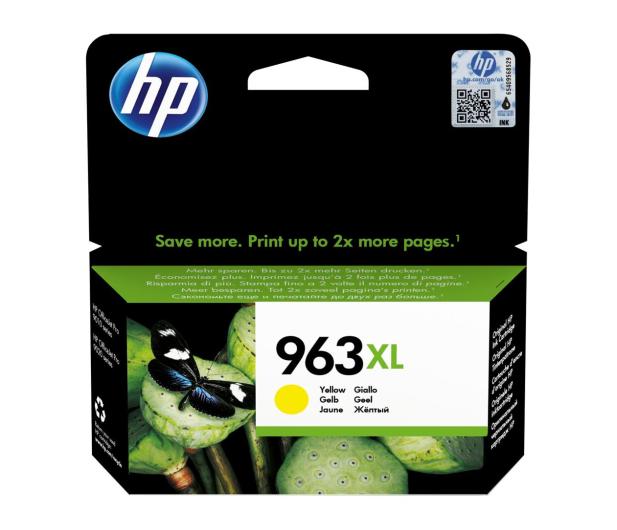 HP 963 XL 3JA29AE Yellow 1600str - 512272 - zdjęcie
