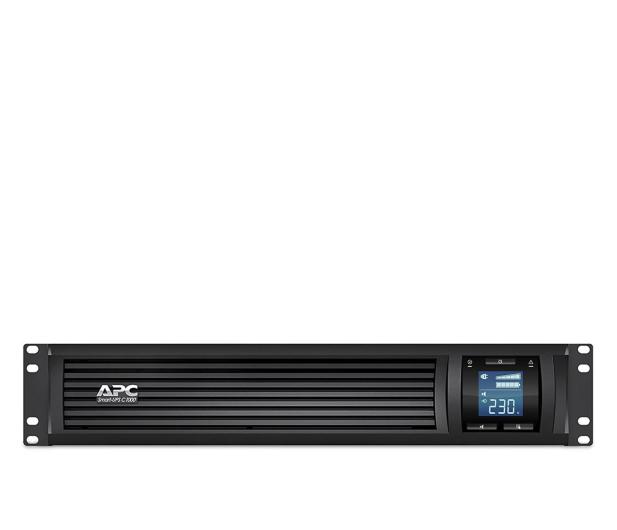 APC Smart UPS (1000VA/600W, 4x IEC, AVR, Rack) - 490523 - zdjęcie