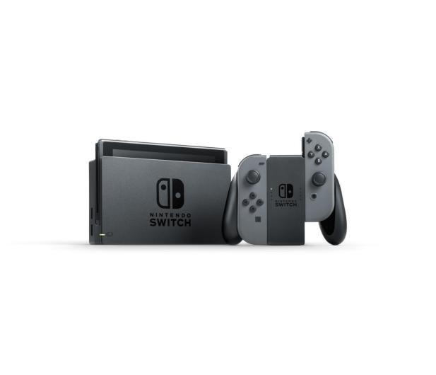 Nintendo Switch Joy-Con - Szary - 513001 - zdjęcie 2