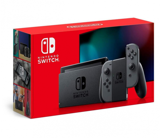 Nintendo Switch Joy-Con Gray *NEW* - 513001 - zdjęcie