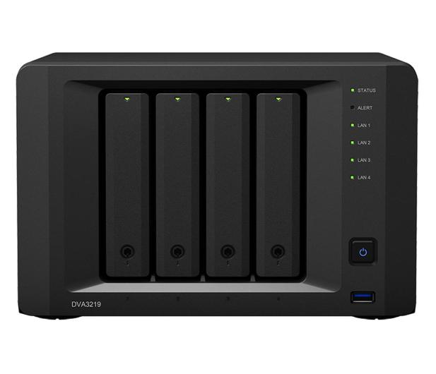 Synology Rejestrator DVA3219 (4xHDD, 4x2.1GHz, 4GB) - 512844 - zdjęcie