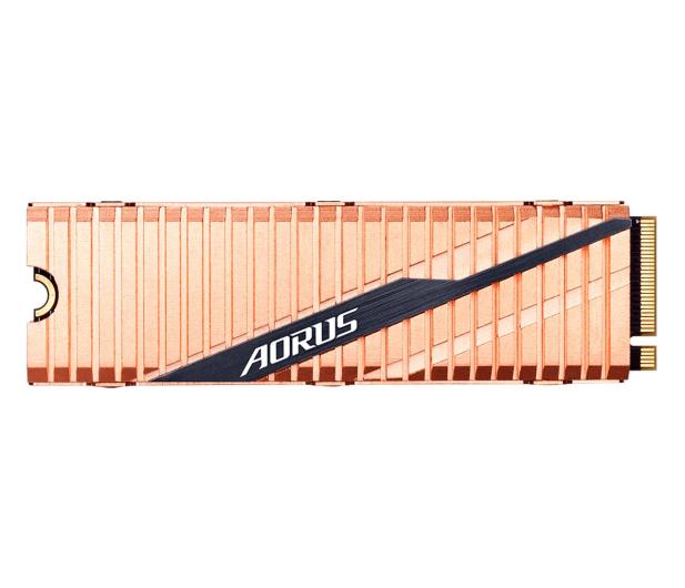 Gigabyte 500GB M.2 PCIe Gen4 NVMe AORUS - 512965 - zdjęcie