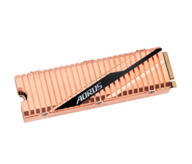 Gigabyte 500GB M.2 PCIe Gen4 NVMe AORUS - 512965 - zdjęcie 2