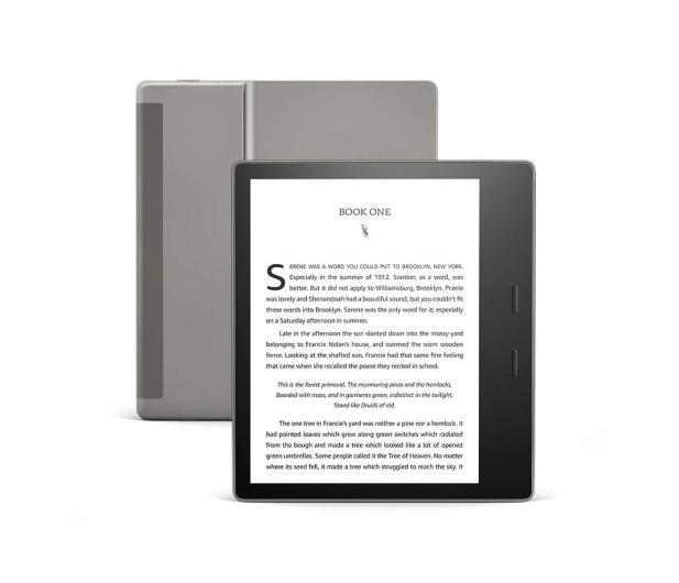 Amazon Kindle Oasis 3 32GB IPX8 bez reklam grafitowy - 508819 - zdjęcie