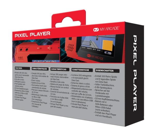 My Arcade PIXEL Player RED  - 509053 - zdjęcie 4