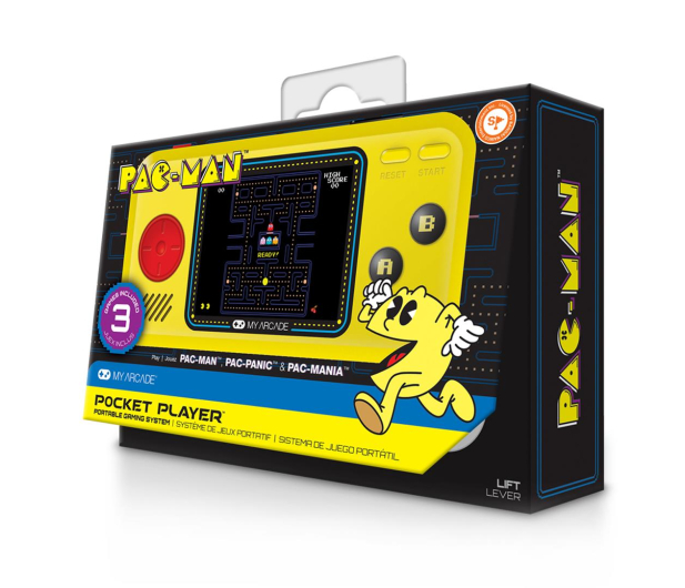 My Arcade POCKET Player Pac-Man 3in1  - 509063 - zdjęcie 4