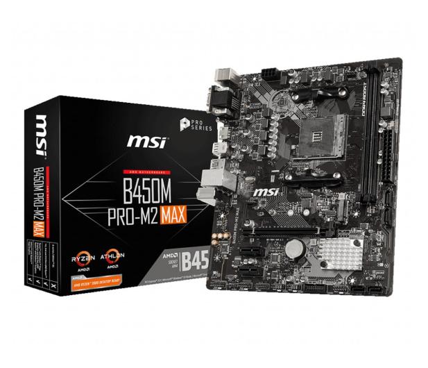 MSI B450M PRO-M2 MAX - 508078 - zdjęcie