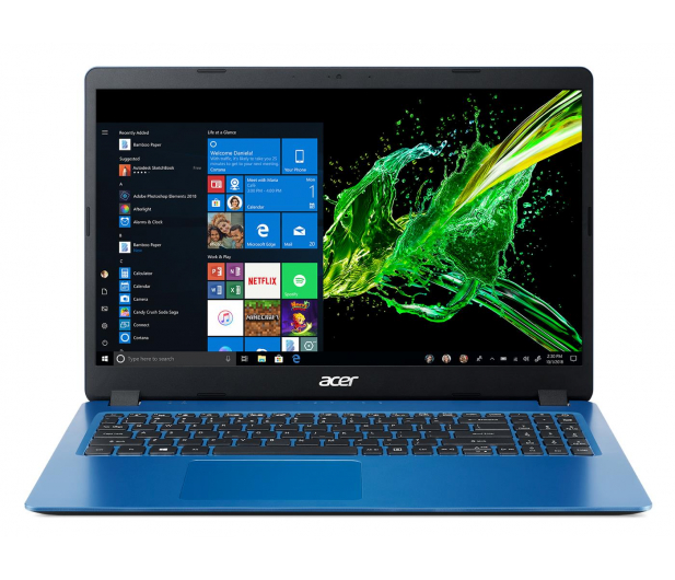 Acer Aspire 3 i5-8265U/12GB/512/Win10 Niebieski - 508479 - zdjęcie 2