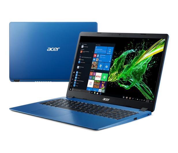 Acer Aspire 3 i5-8265U/12GB/512/Win10 Niebieski - 508479 - zdjęcie