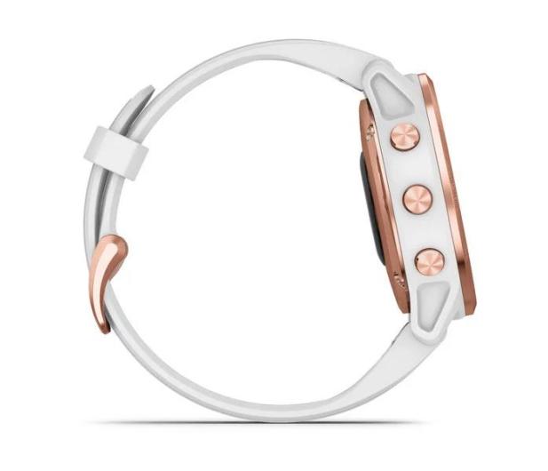 Garmin Fenix 6S PRO różowe złoto - biały Gorilla Glass - 513417 - zdjęcie 6
