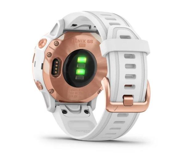 Garmin Fenix 6S PRO różowe złoto - biały Gorilla Glass - 513417 - zdjęcie 4