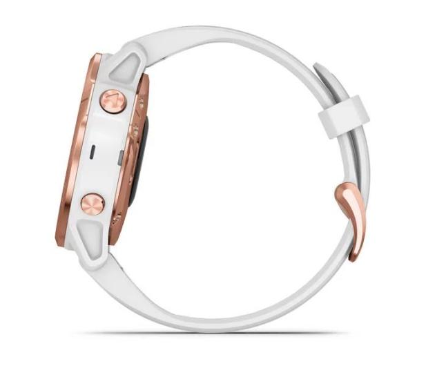Garmin Fenix 6S PRO różowe złoto - biały Gorilla Glass - 513417 - zdjęcie 5