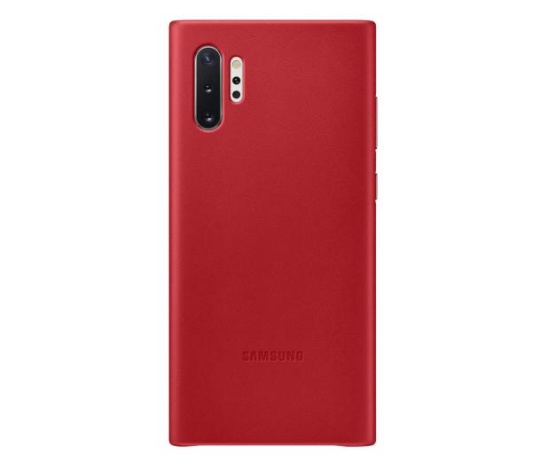 Samsung Leather Cover do Galaxy Note 10+ czerwony - 508393 - zdjęcie