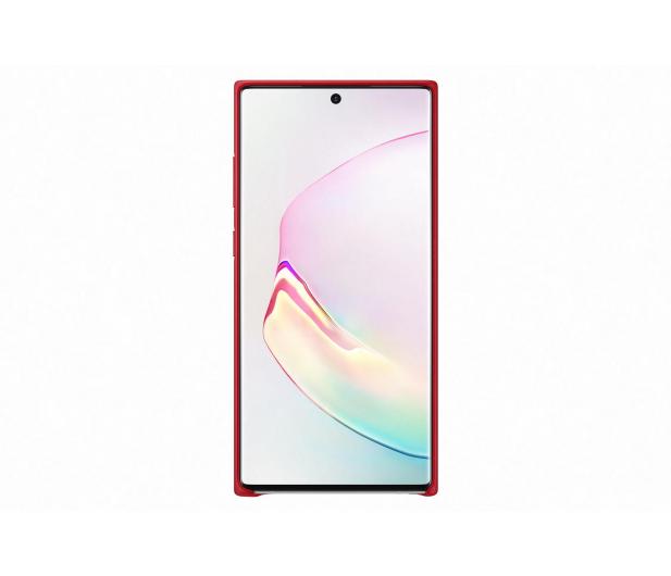 Samsung Leather Cover do Galaxy Note 10+ czerwony - 508393 - zdjęcie 2