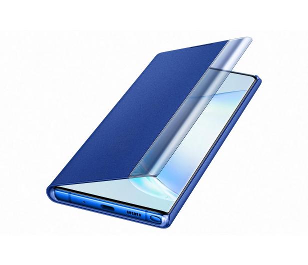 Samsung Clear View Cover do Galaxy Note 10+ niebieski - 508404 - zdjęcie 3