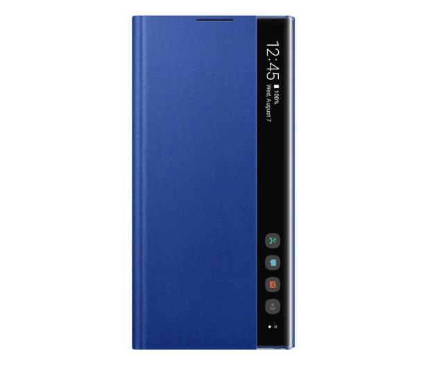 Samsung Clear View Cover do Galaxy Note 10+ niebieski - 508404 - zdjęcie